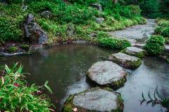 Озеро и камень Стоковые Фотографии RF