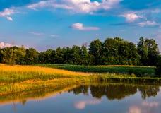 озеро и небо Стоковое фото RF