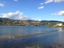 Озеро и пуща Стоковое Фото