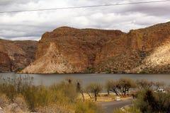 Озеро каньон, положение Аризоны, Соединенных Штатов Стоковые Фотографии RF