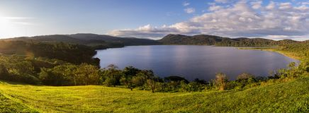 Озеро Коут, Коста-Рика стоковое изображение