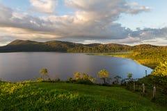 Озеро Коут, Коста-Рика стоковые фото