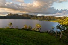 Озеро Коут, Коста-Рика стоковые изображения rf