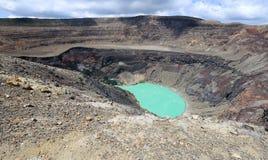 Озеро кратера вулкана Санта-Ана, Сальвадор Стоковое Изображение RF