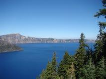 озеро 2008 кратера Орегон США Стоковые Изображения