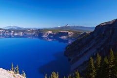озеро 2008 кратера Орегон США Стоковое Фото