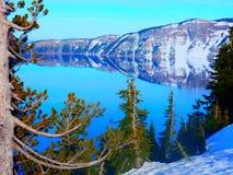 озеро 2008 кратера Орегон США Стоковые Фото