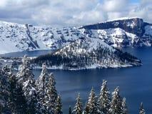 озеро кратера Стоковая Фотография