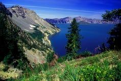 озеро кратера Стоковые Изображения RF