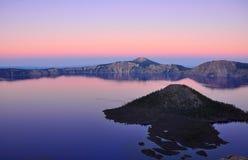 Озеро кратер, Орегон Стоковые Изображения