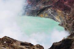Озеро кратер Стоковое фото RF
