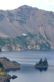 Озеро кратер Стоковые Изображения RF