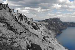 Озеро кратер Стоковое Фото