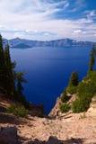 Озеро кратер Стоковые Изображения