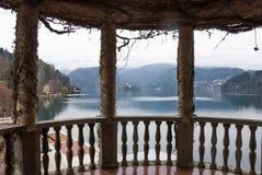 Озеро кровоточенное от балкона Стоковое Изображение