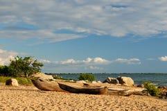 Озеро Малави (Nyasa), Танзания Стоковое Изображение RF