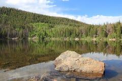 Озеро медвед, Колорадо Стоковые Изображения