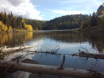 Озеро мез Колорадо Стоковое фото RF