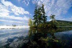 озеро Мейн Стоковое фото RF