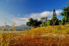 озеро мирное Стоковое Изображение RF