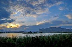 озеро мирное Стоковые Изображения RF