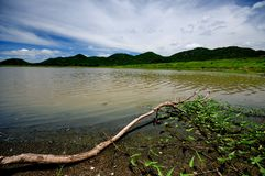 озеро мирное Стоковая Фотография RF