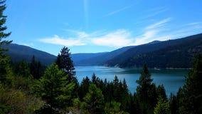 озеро мирное Стоковые Фото