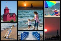 озеро Мичиган Стоковые Изображения