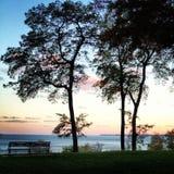 озеро Мичиган Стоковое Изображение RF
