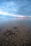 озеро Мичиган cloudscape сверх Стоковое фото RF