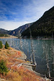 озеро Монтана землетрясения Стоковое Изображение
