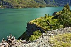 Озеро Монтана St Mary Стоковое фото RF