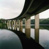 озеро моста сверх Стоковая Фотография