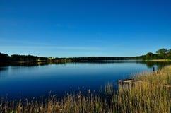 озеро молчком Стоковые Изображения RF
