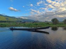 Озеро Мьянма Inle Стоковые Фото