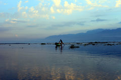 Озеро Мьянма Inle Стоковые Изображения RF