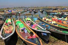 Озеро Мьянм Inle Стоковая Фотография RF