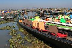 Озеро Мьянм Inle Стоковое Изображение