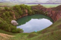Озеро начало karst Стоковое фото RF