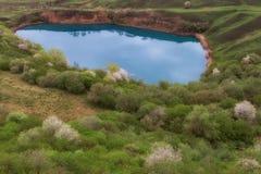 Озеро начало karst Стоковое Изображение RF