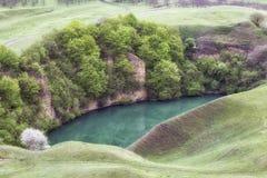 Озеро начало karst Стоковая Фотография RF