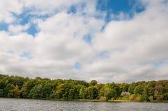 Озеро на датской сельской местности Стоковое фото RF