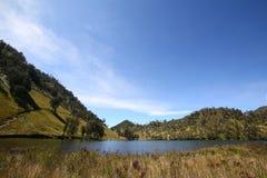 Озеро на лете Стоковые Изображения
