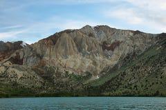 Озеро на заходе солнца, Калифорния каторжник стоковое изображение