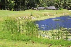 Озеро на поле для гольфа на Констанции Lemuria Стоковые Фотографии RF