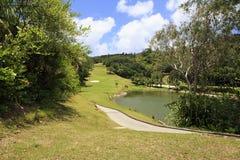 Озеро на поле для гольфа на Констанции Lemuria Стоковые Изображения