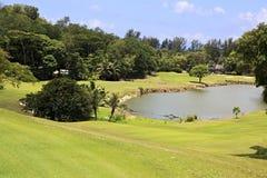 Озеро на поле для гольфа на Констанции Lemuria Стоковые Изображения RF