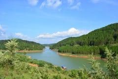 Озеро на Dalat Стоковые Изображения RF
