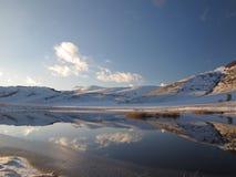 озеро немногая Стоковое Изображение