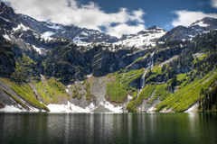 озеро ненастное Стоковое Фото